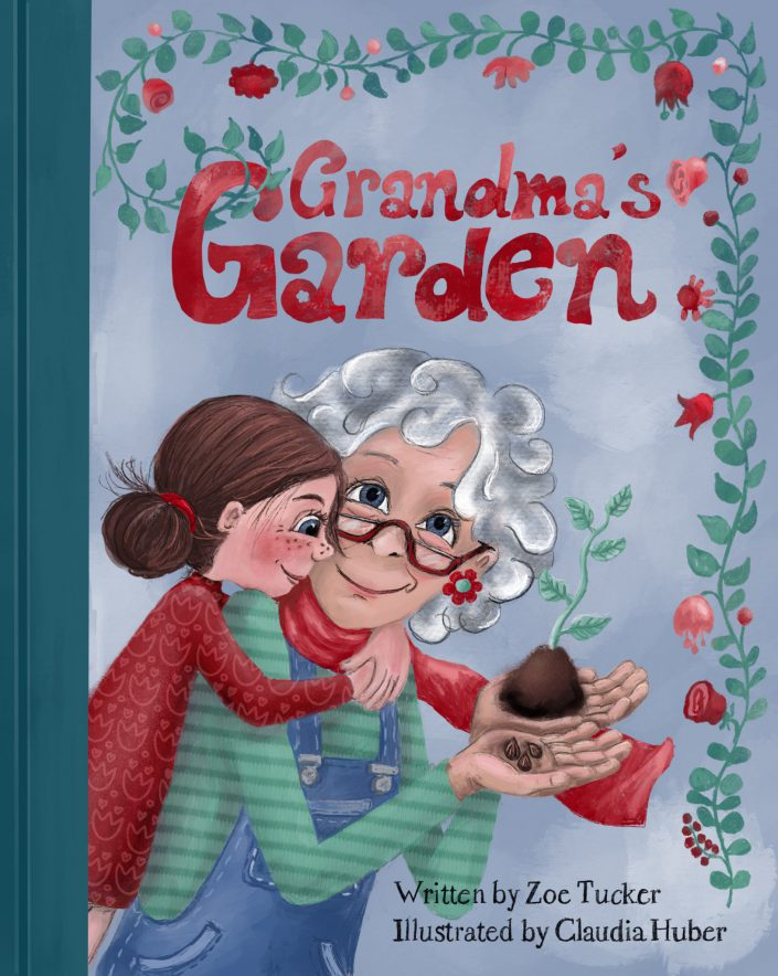 "Cover für ""Grandmas Garden"" by Zoe Tucker"