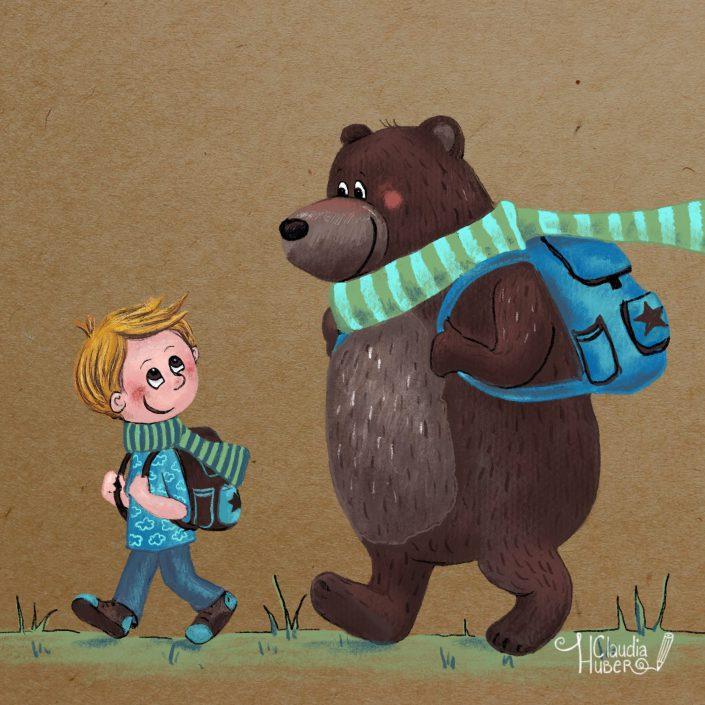 Noah & sein Freund der Bär
