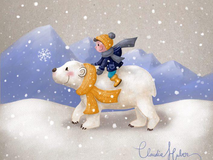Joscha & der Eisbär