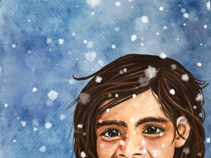 Schneeflocken-Wunder.
